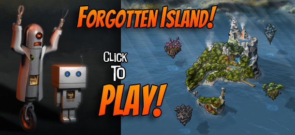 Forgotten Island! A citizen science adventure game.